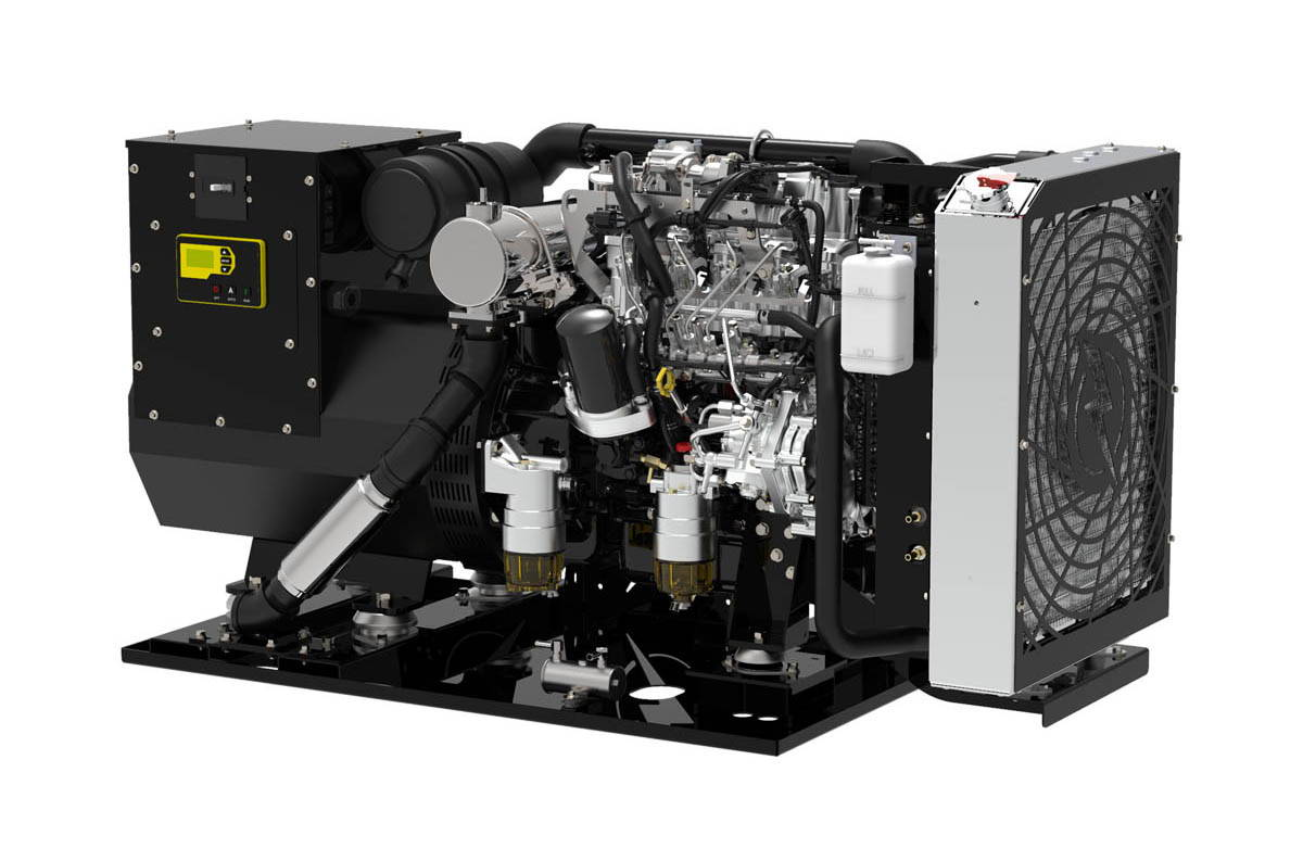 PTI-38 Open Diesel Generator