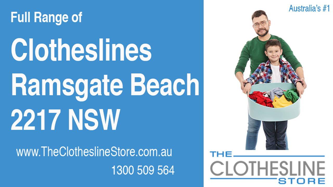 Clotheslines Ramsgate Beach 2217 NSW