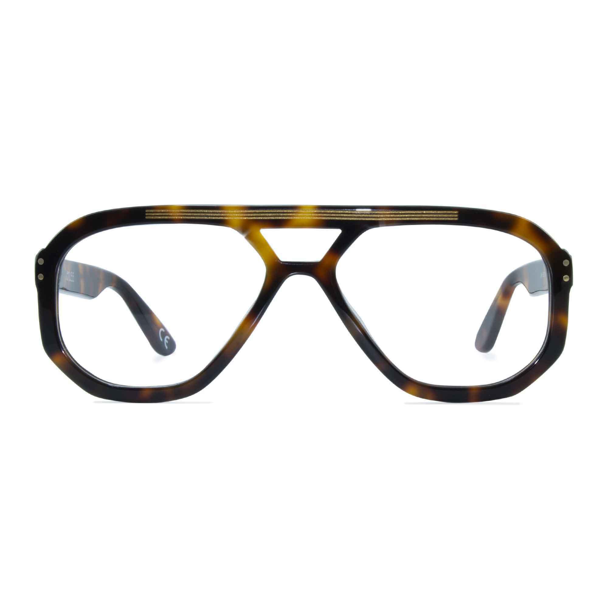 Joiuss jim tortoiseshell navigator glasses