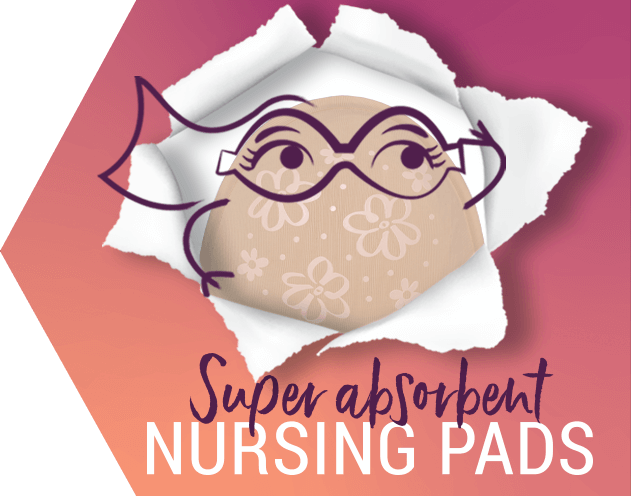 Super Absorbent Maternity Breast Pads - Just'nCase by Confitex