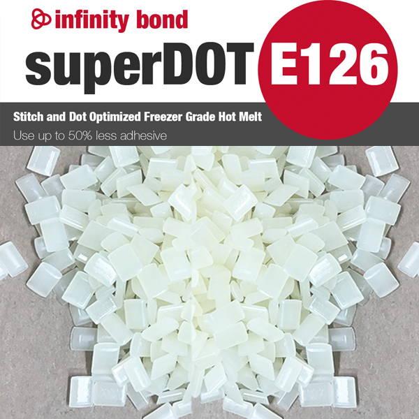 Infinity Bond superDOT E126 Stitching and Dotting Freezer Grade Hot Melt