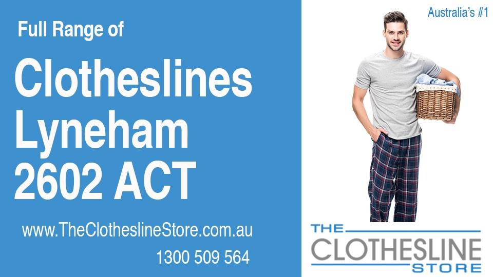 New Clotheslines in Lyneham ACT 2602