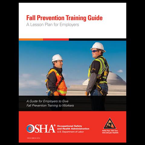 OSHA Fall Prevention Training Lesson Plan