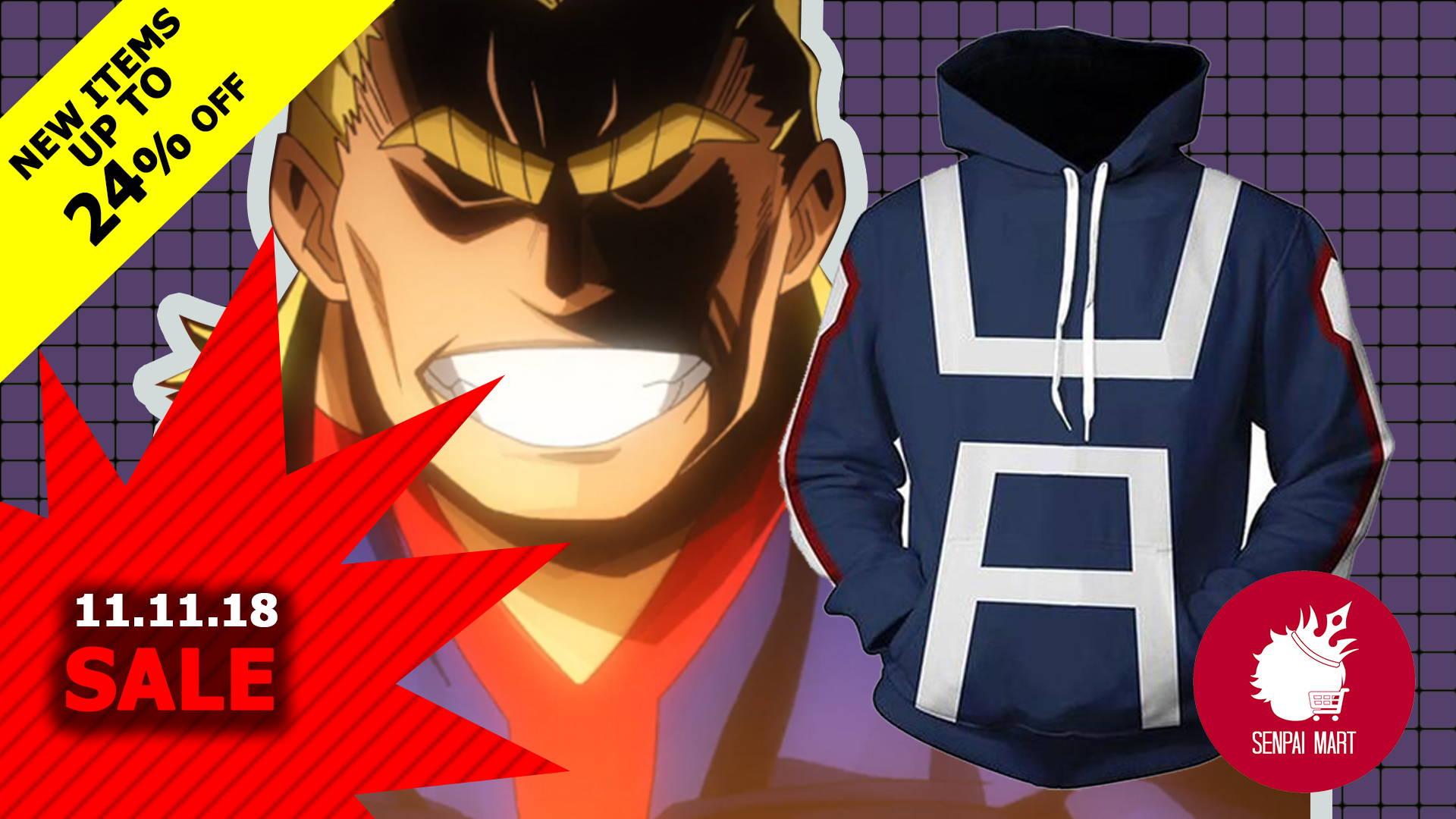 anime 11.11 sale