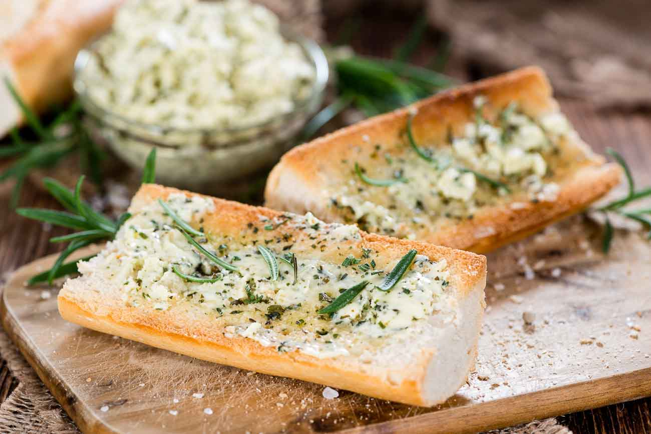 Garlic Bread with Herb Butter