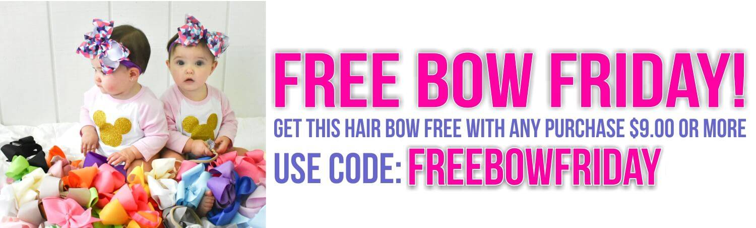 Free Bow Friday Banner