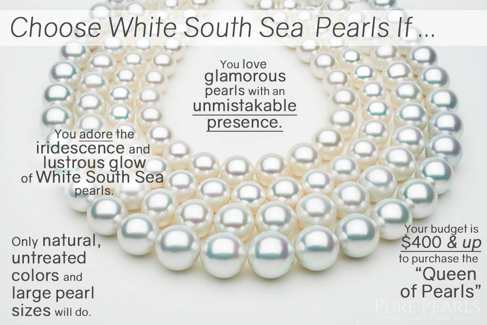 Reasons to Buy White South Sea Pearls