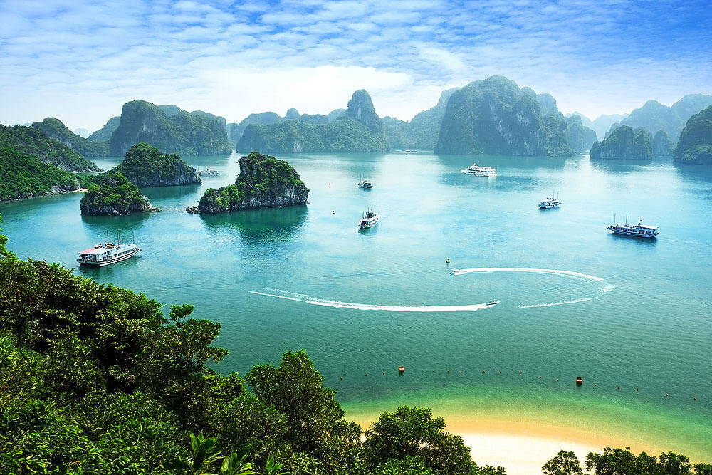 Travelbay Vietnam Tours - Ha Long Bay cruise