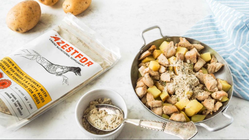 Ingredients homemade dog food chicken potato grain free