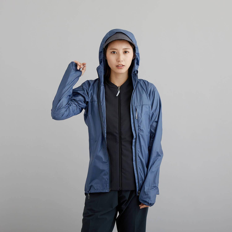 HOUDINI(フーディニ)/カムアロングジャケット/ブルー