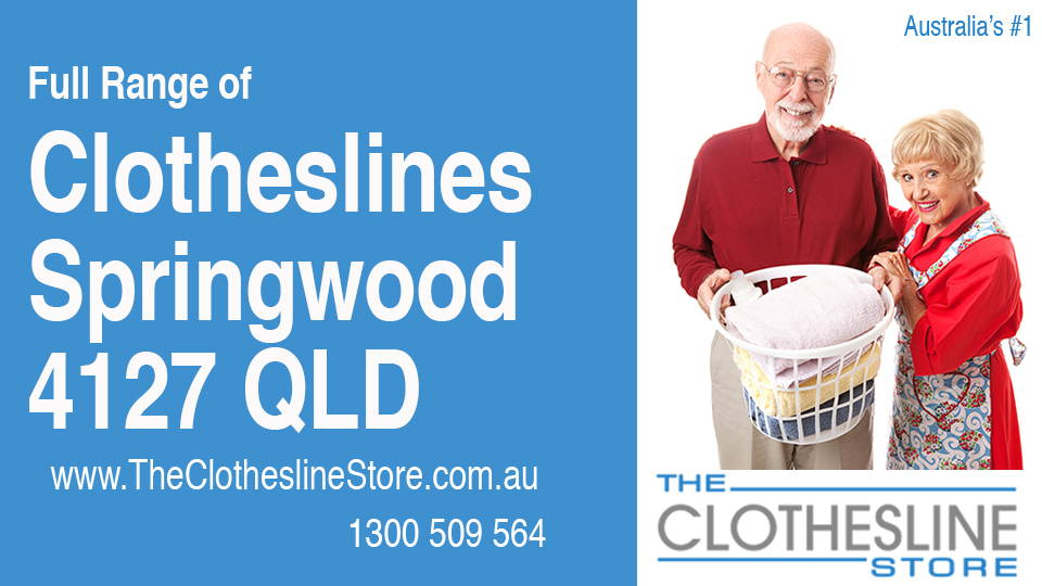 New Clotheslines in Springwood Queensland 4127