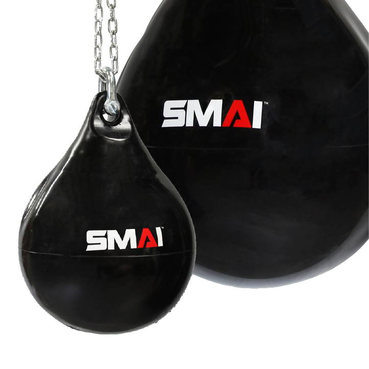 SMAI water punch bag aqua sizes small to large
