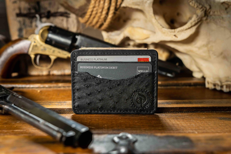 ostrich wallet for men