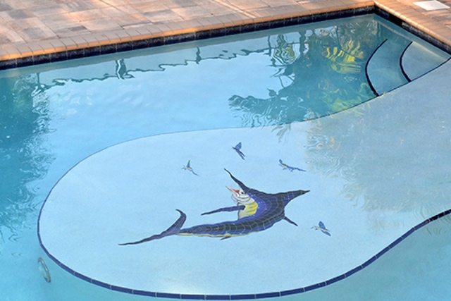 MARBLUL - Marlin Pool Mosaic