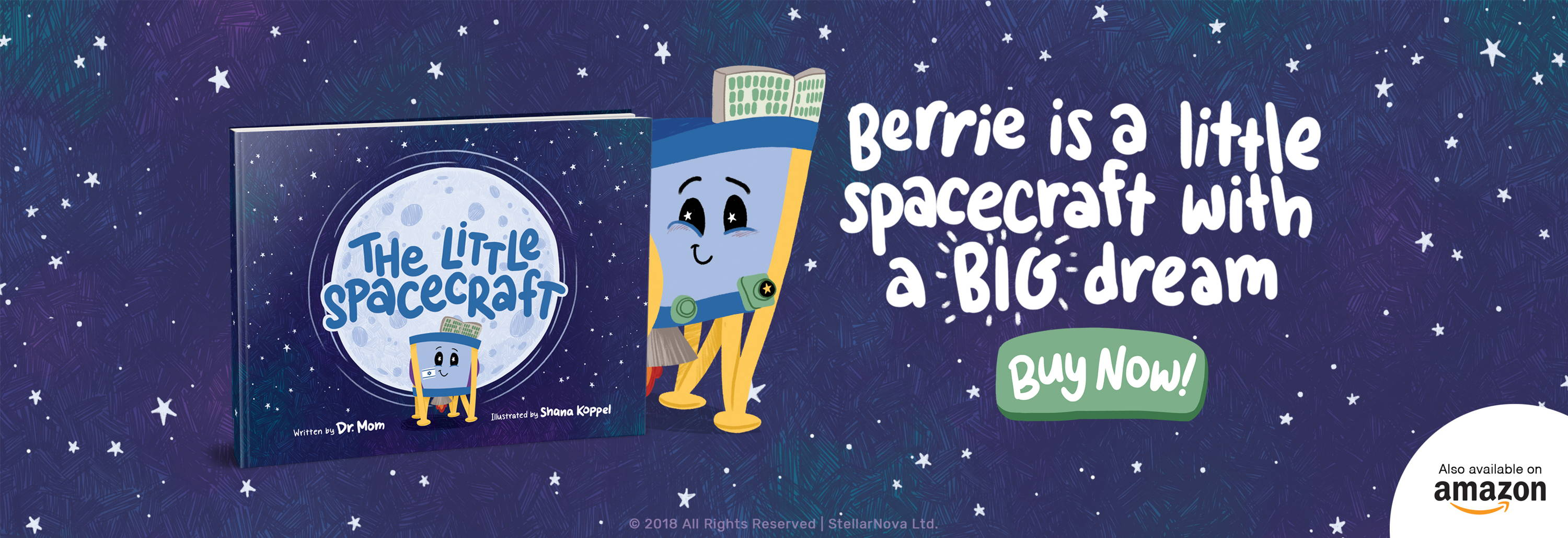 The Little Spacecraft Book by Dr. Mom