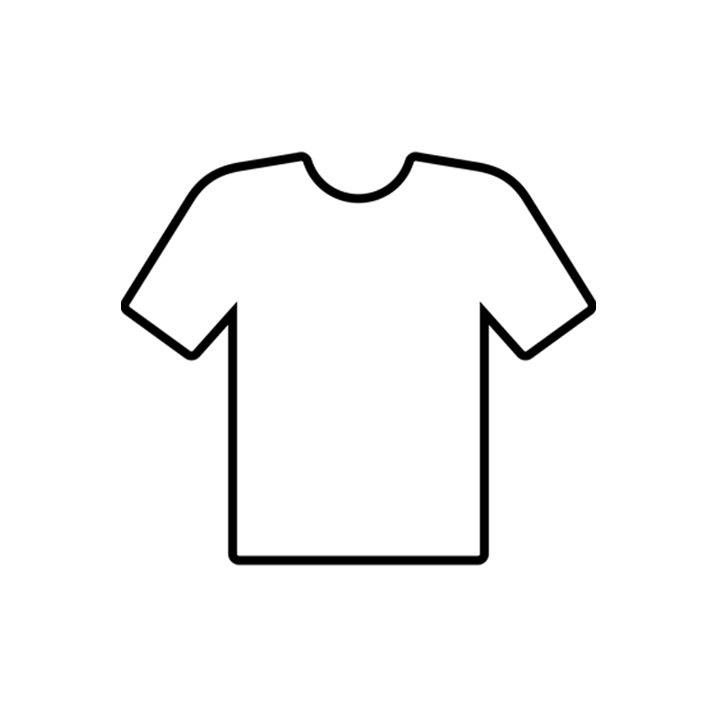 outline of shirt