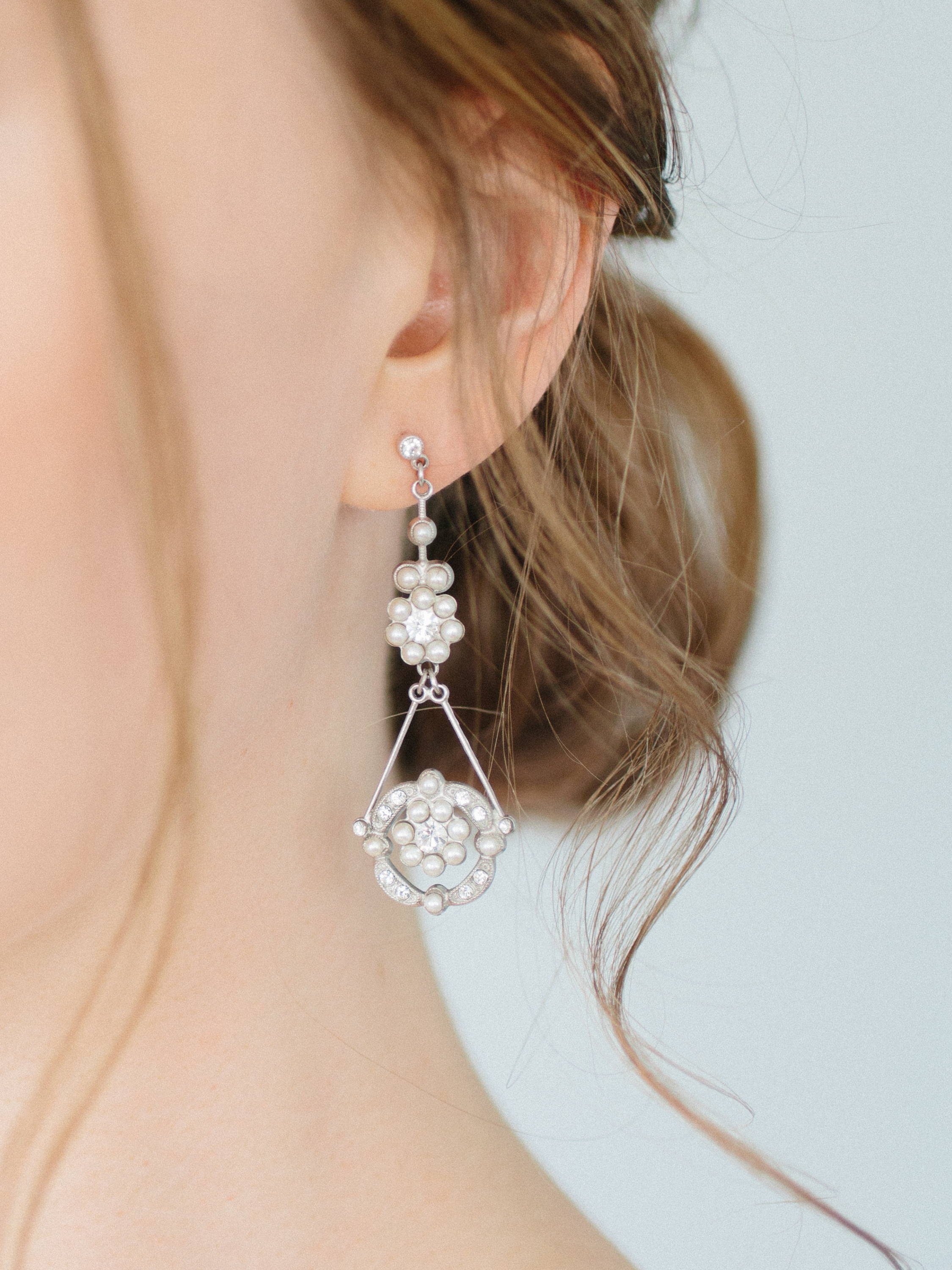 Ampersand Bridal Marbella Earrings