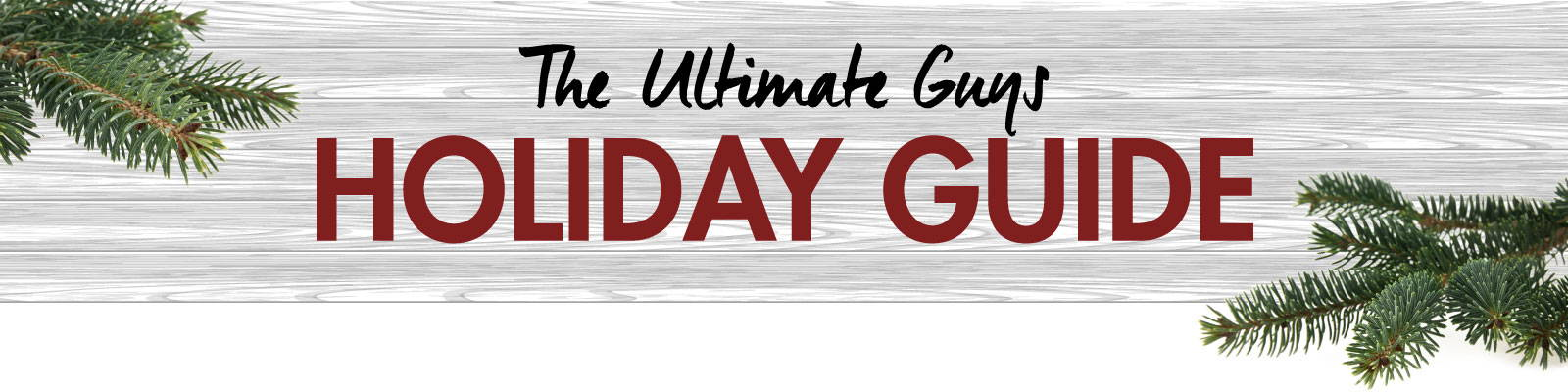 The Ultimate Guys Holiday Guide of Men's Underwear