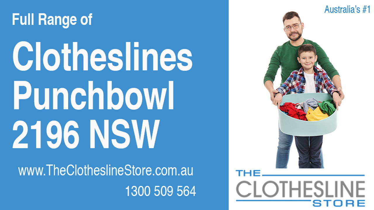 Clotheslines Punchbowl 2196 NSW