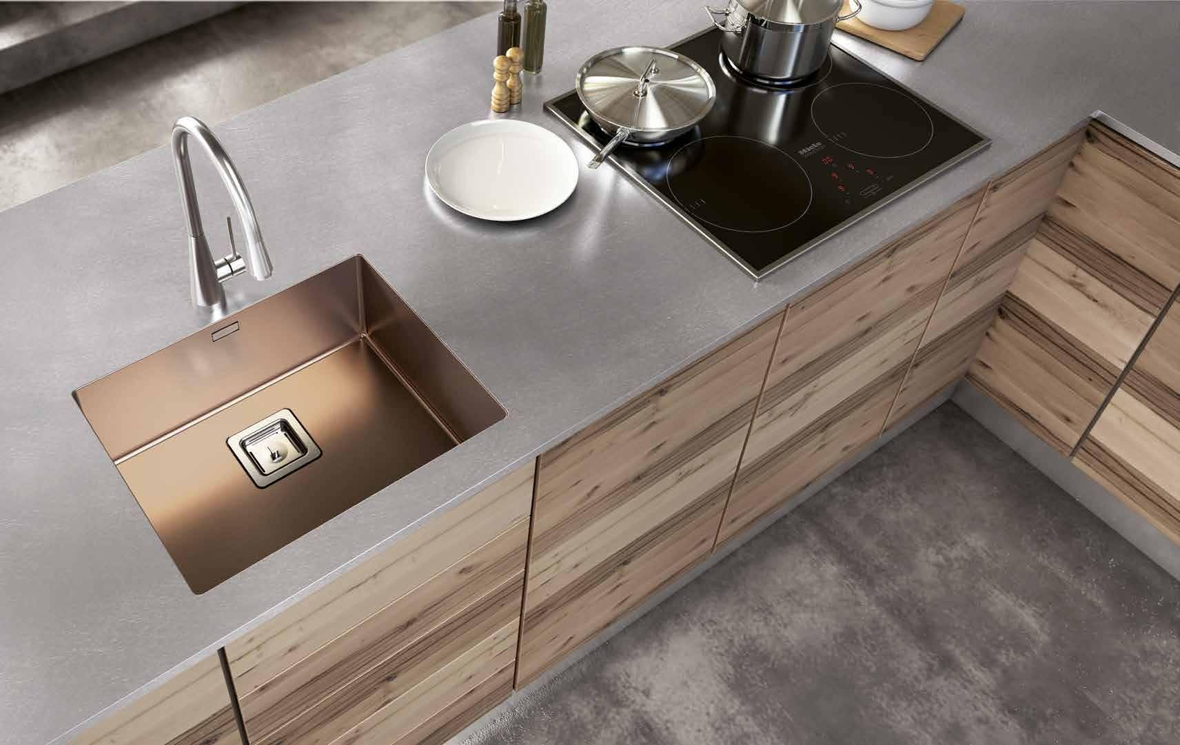 Titanium kitchen sinks – Artinox Sinks