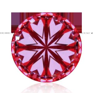 Perfect Hearts on Diamond