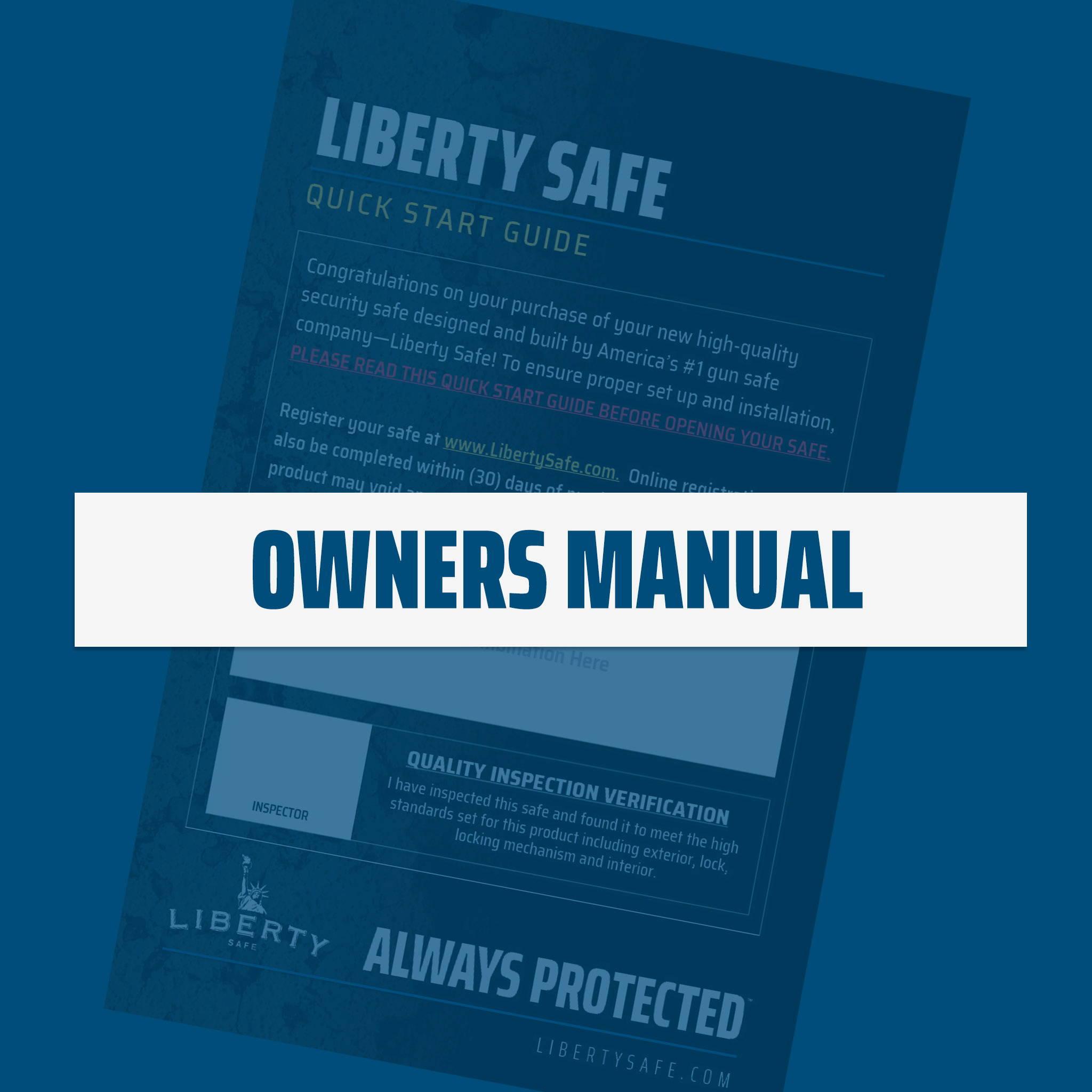 Home and Gun Safe Manual