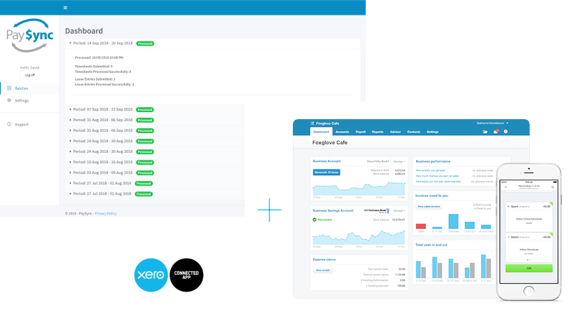 Aussie Time Sheets - PaySync + Xero Payroll Integration