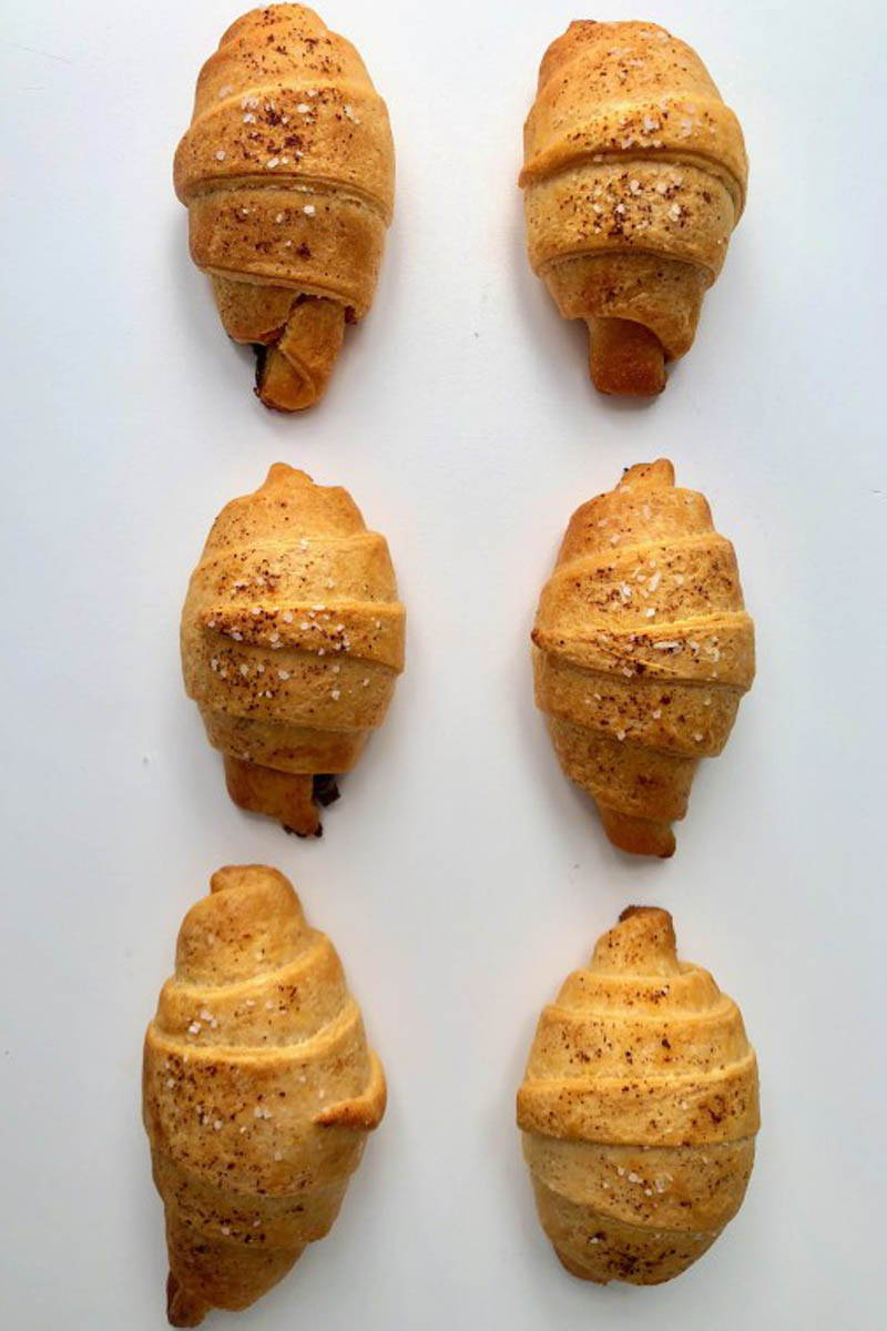 Bake Croissants with Bacon Jam