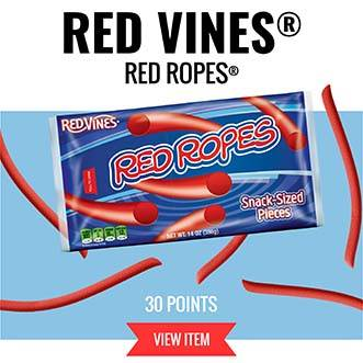 Red Vines Red Ropes - 30 Points VIEW ITEM
