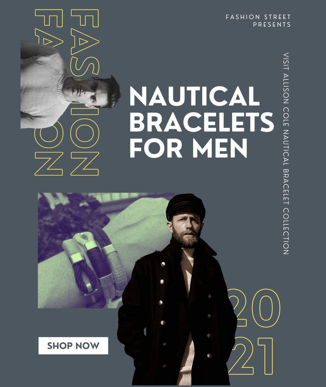 Father's Day Gifts Nautical Bracelets at 3 Barn Swallows