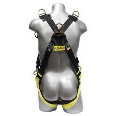 Fall Protection Harnesses with 5 - 6 Connection Points