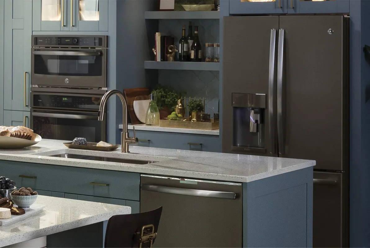 Gorgeous Smudge Proof Slate Appliances Ge Appliances