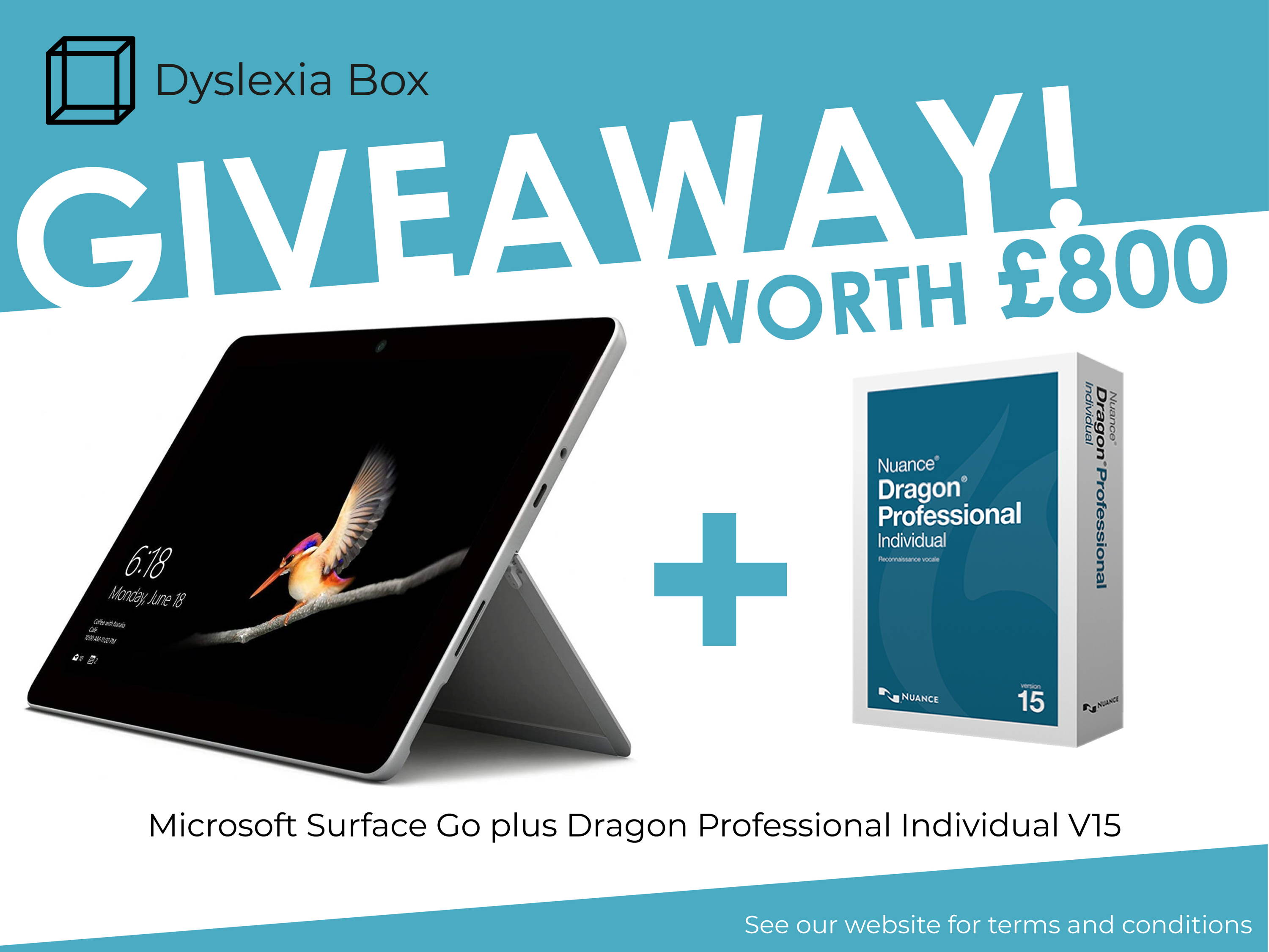 Assistive Tech Giveaway for Dyslexia Awareness Week 2020