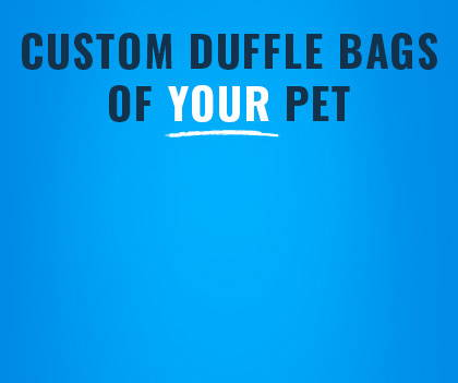 custom duffle bag banner