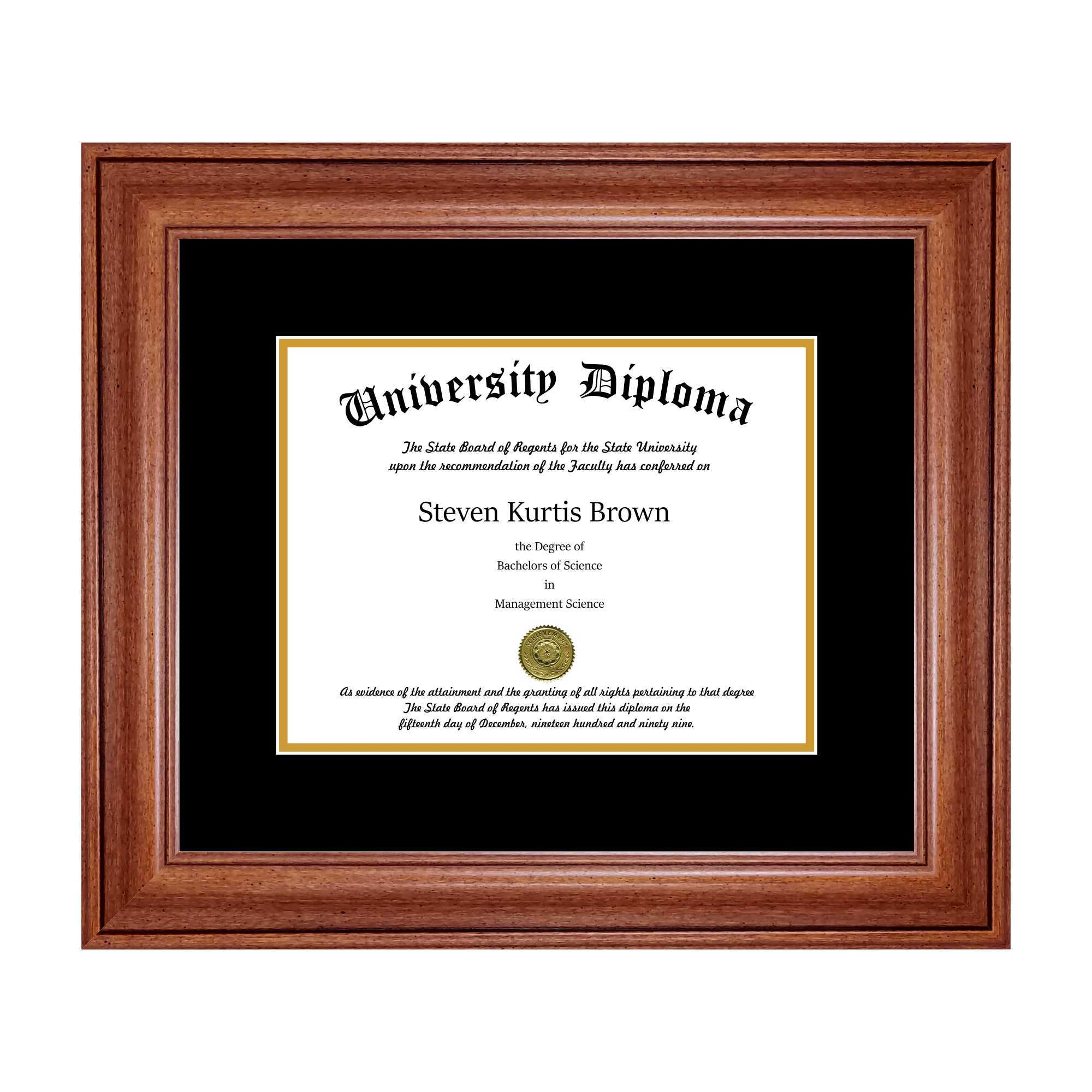 Display Cases and Custom Picture Frame | Diploma Frames