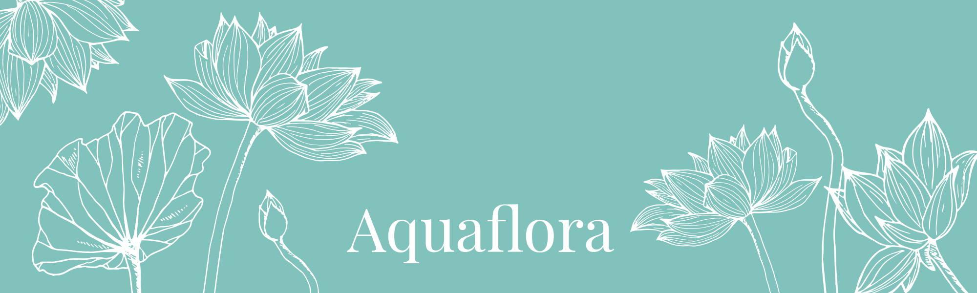 Image de la gamme Aquaflora de la collection Femme Dans un Jardin