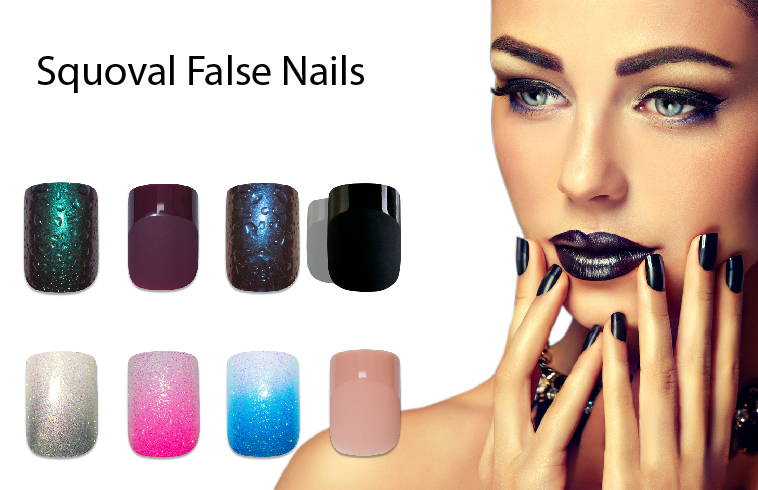 Bling Art - Squoval False Nail Collection