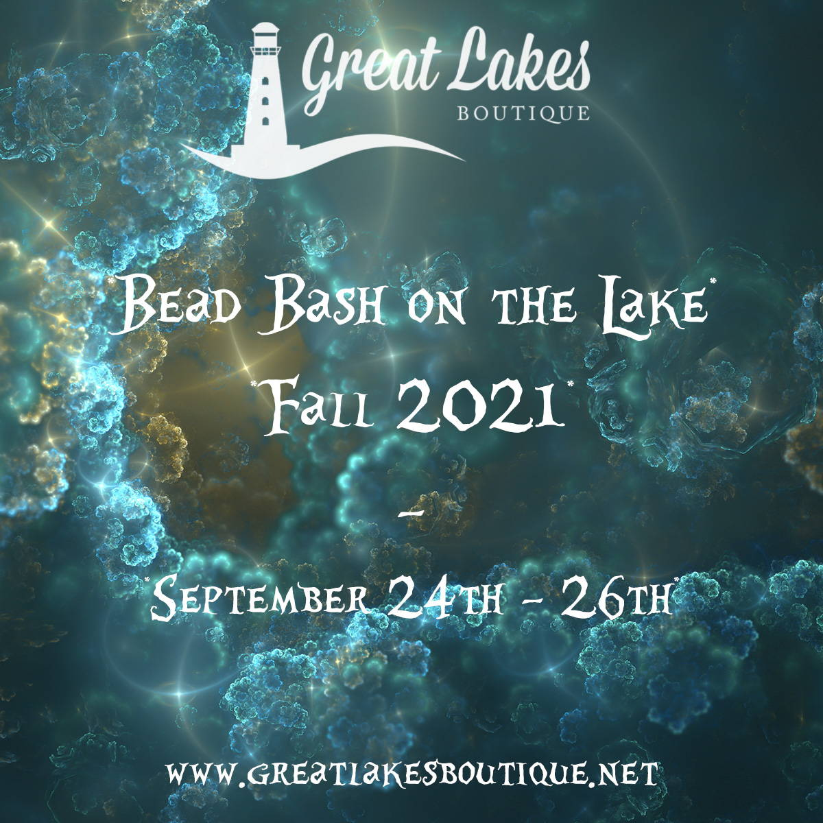 Great Lakes Boutique Bead Bash on the Lake Fall 2021