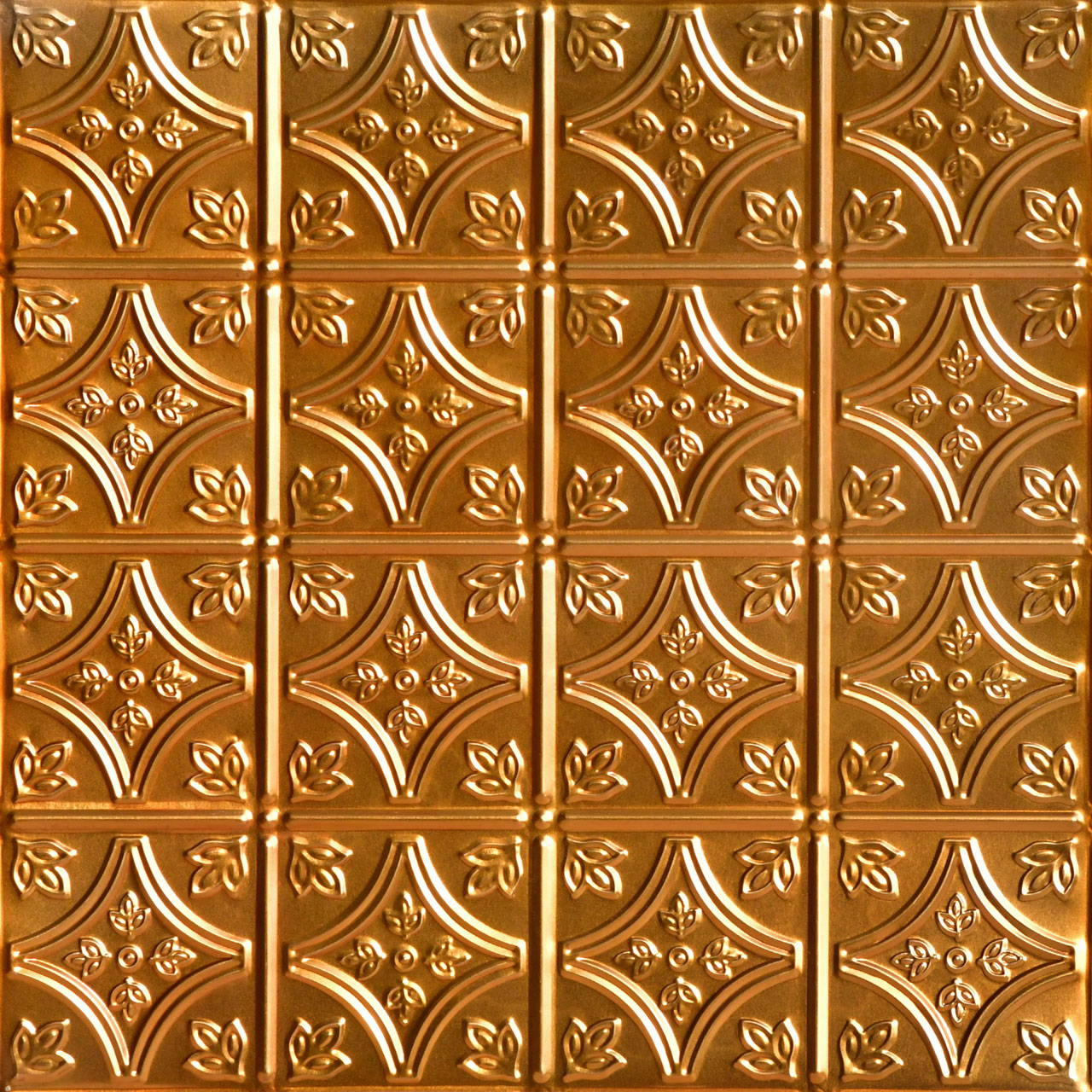 Tiny Tiptoe 2 ft x 2 ft Shanko - Wall and Ceiling Patterns - #209 - (Pack of 12) - Lincoln Copper