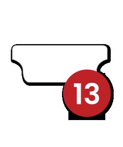 13 Tabs/Set