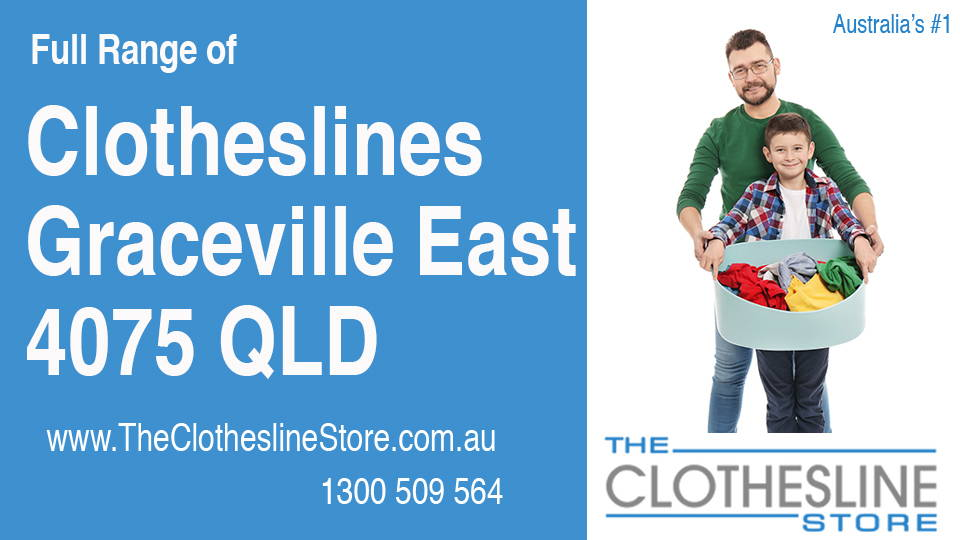 New Clotheslines in Graceville East Queensland 4075