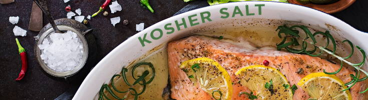 High Quality Organics Express Kosher Salt with Salmon and Lemon and Rosemary