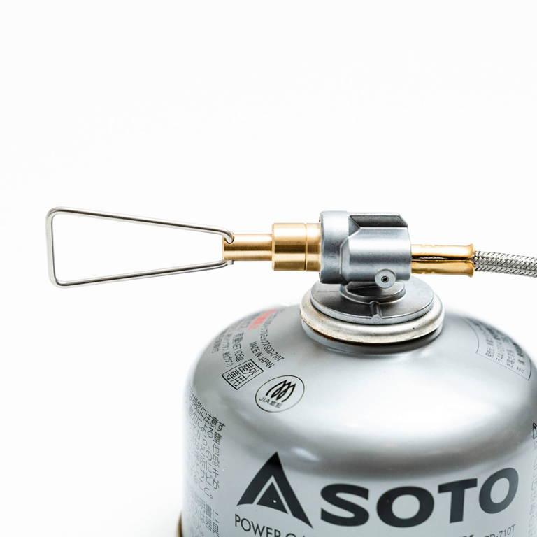 SOTO(ソト)/マイクロレギュレーターストーブ フュージョントレック/シルバー