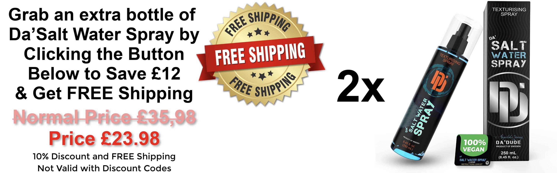 Best Sea Salt Spray for Men Free Shipping