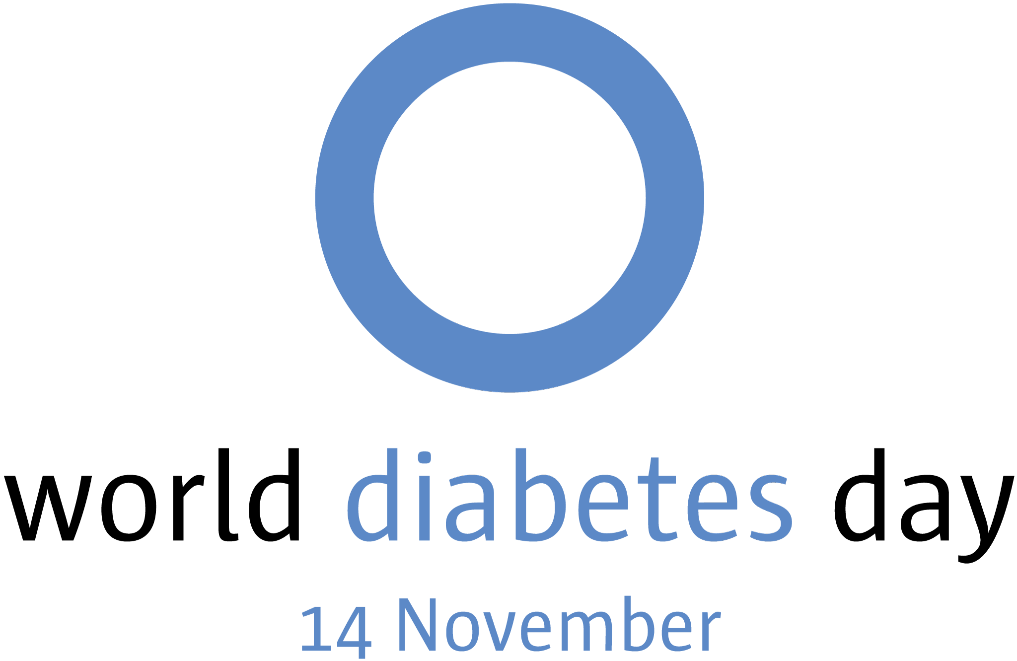 World Diabetes Day Logo, World Diabetes Day is on November 14th