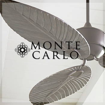 Monte Carlo Fans by Brand LIghting. Discounts call 888-991-3610