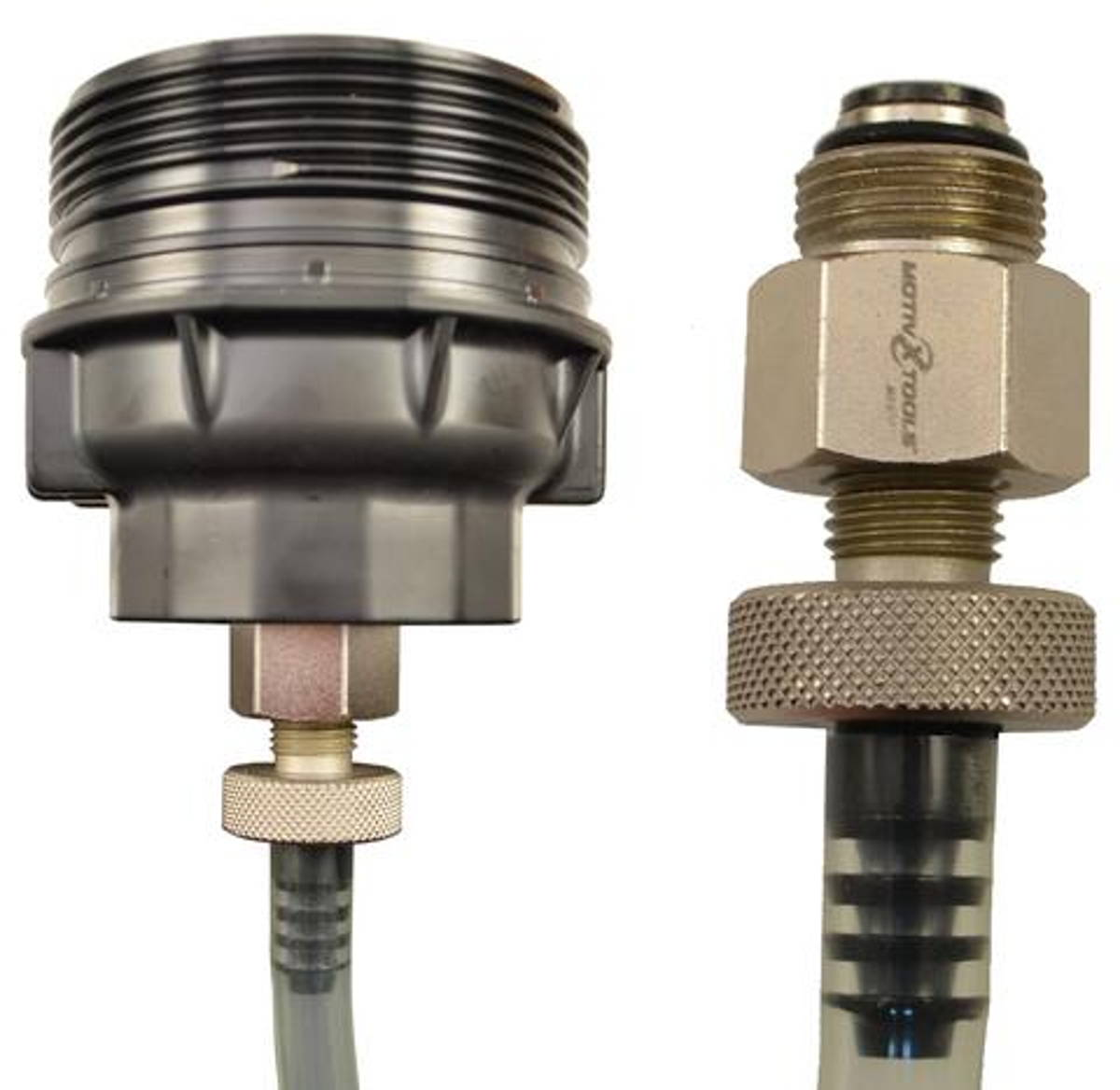 Specialty oil drain tool for Toyota vehicles