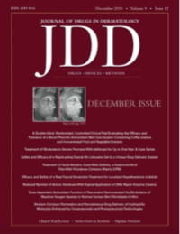 Journal of Drugs and Dermatology Cover