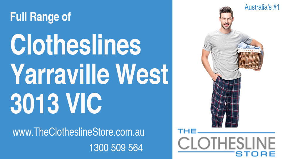 New Clotheslines in Yarraville West Victoria 3013