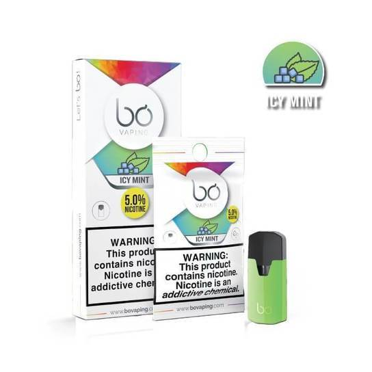 Icy Mint Bo Pods by Bo Vaping